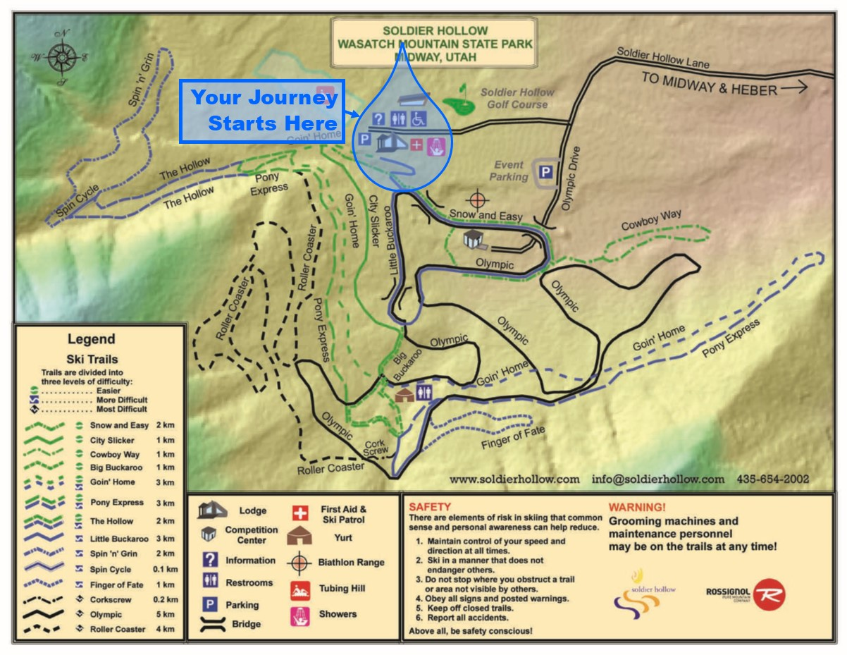 Venue Map & Directions - Provo River Watershed Council